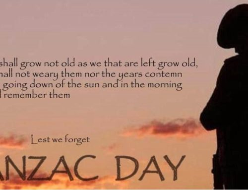 ANZAC Day Holiday 2019
