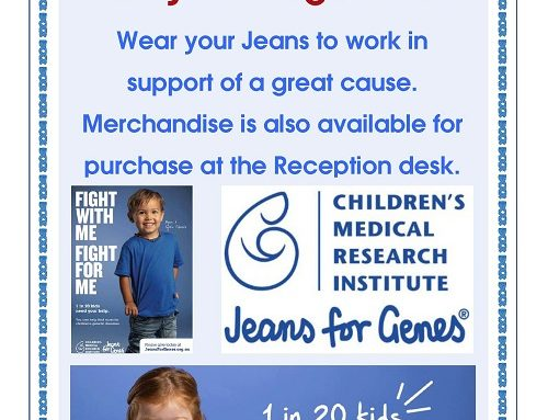 Jeans for Genes Day 2019